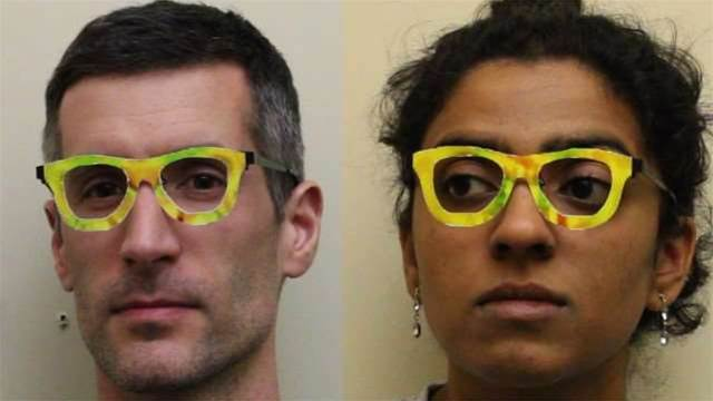 How to disappear completely: wear glasses that fool facial recognition