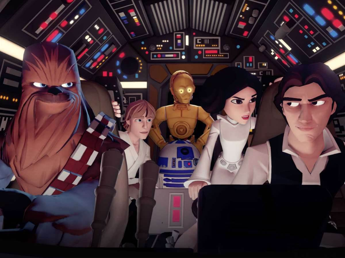 Star Wars joins the Avengers, Tron, and more Pixar in Disney Infinity 3.0