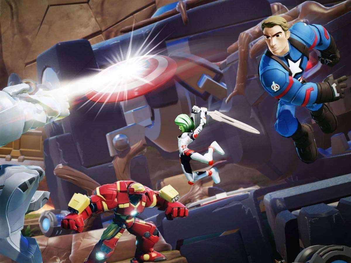 Marvel Battlegrounds brings brawling to Disney Infinity 3.0