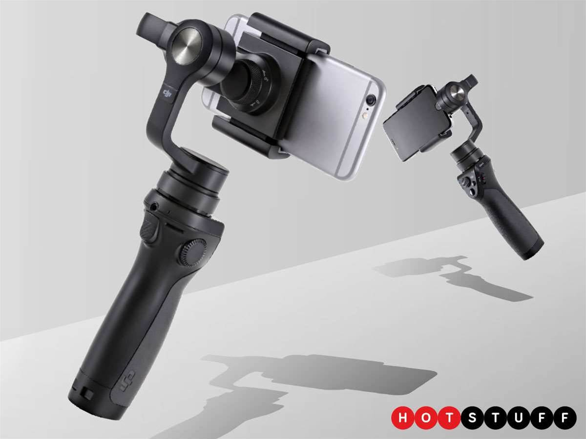 DJI Osmo Mobile makes your smartphone movies steady as a rock