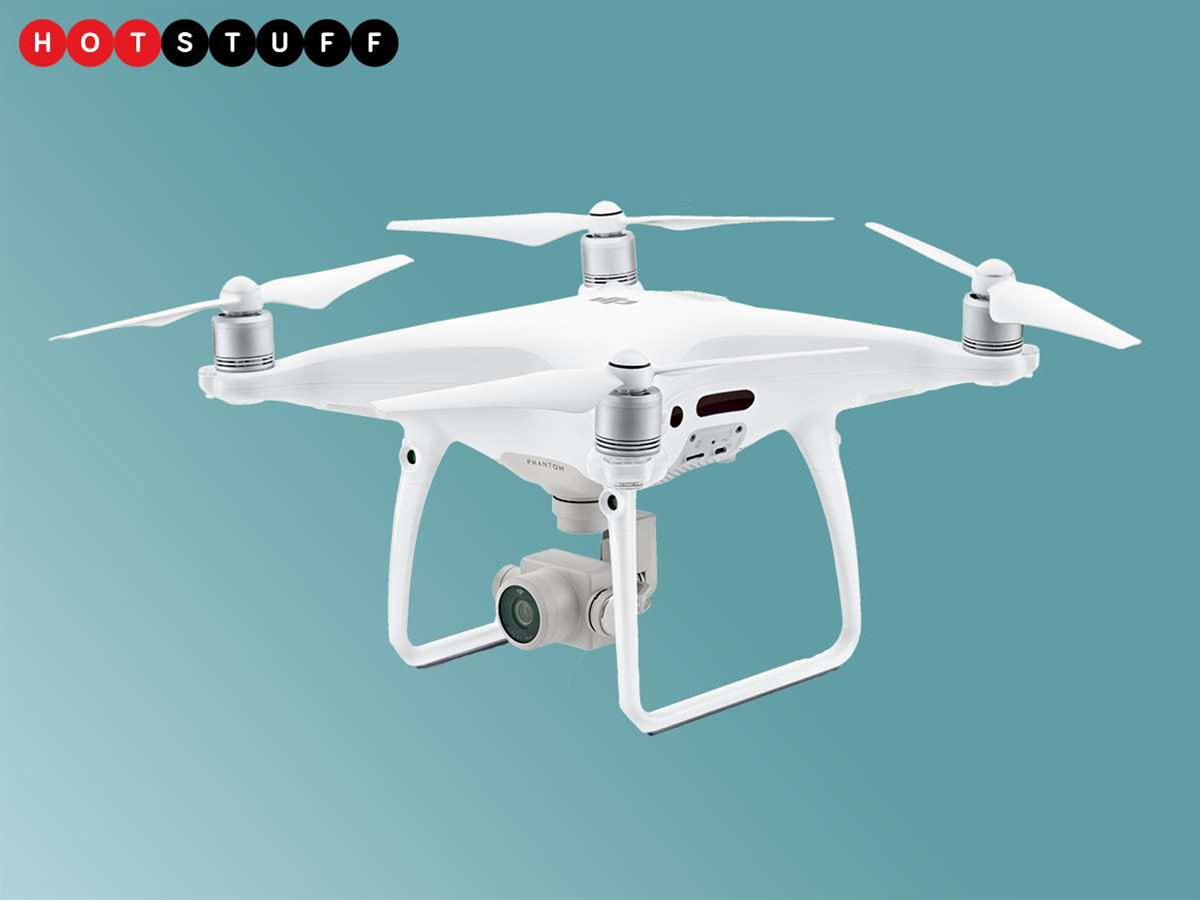 The Phantom 4 Pro is the levelled-up drone of your dreams