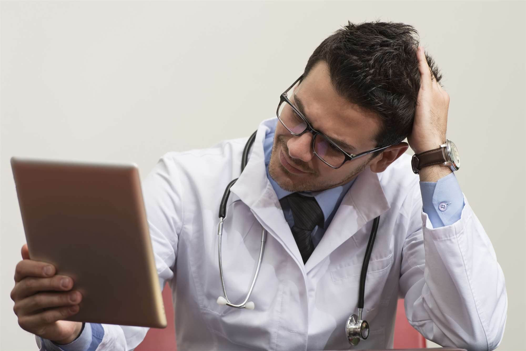 GPs failing to regularly upload e-health records
