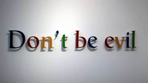 "Why Google's parent company ditched ""don't be evil"""