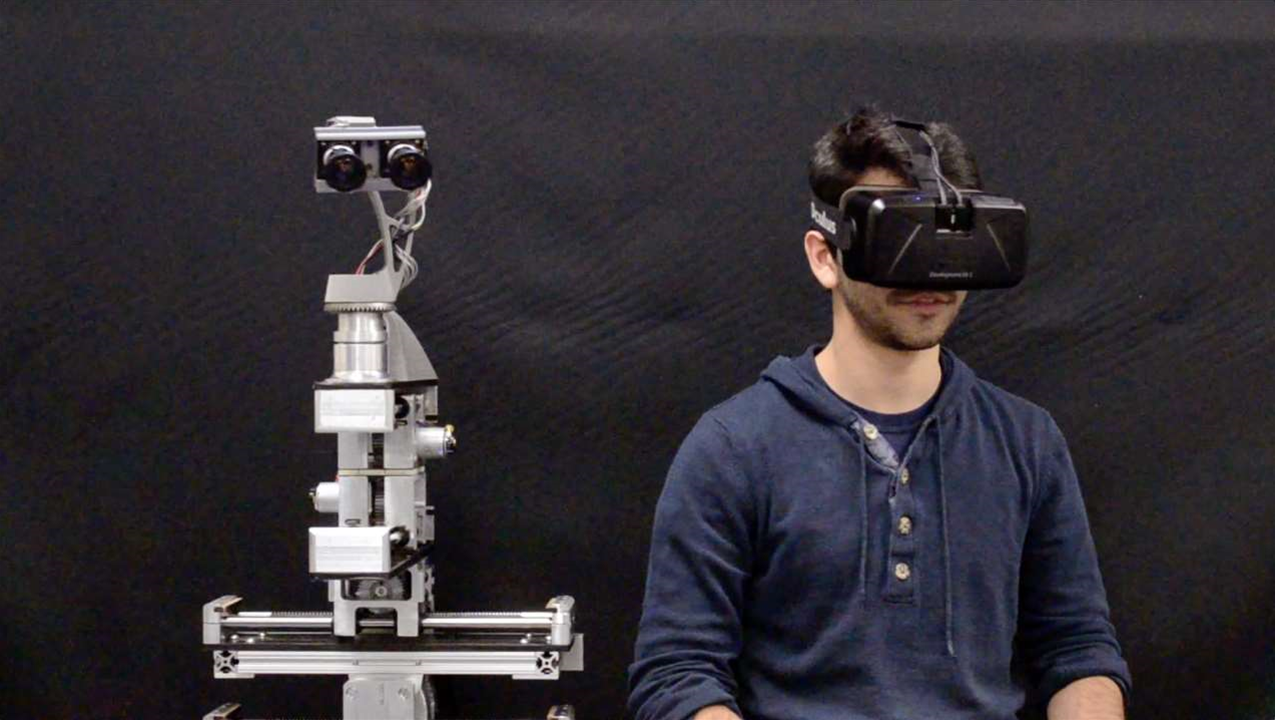 Oculus Rift and Robotic Heads: A Match Made In Geek Heaven