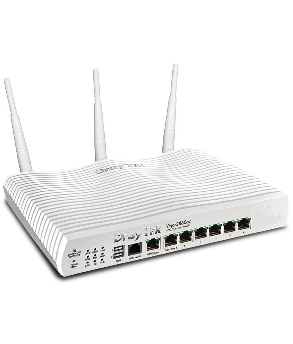 Review: DrayTek Vigor 2860ac VDSL2 Security Firewall