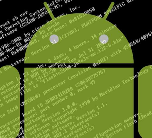 Android app installs shell, bypasses permissions
