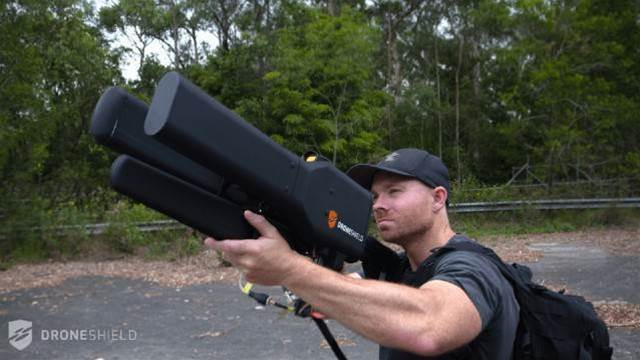 This gun can take down a drone from over a mile away