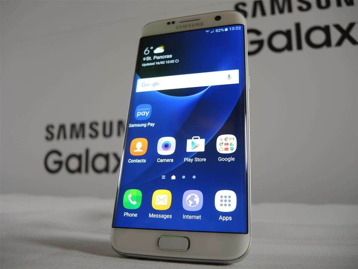 Android takes up 8GB on the Galaxy S7