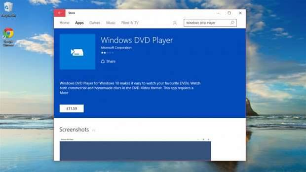 How to play DVDs in Windows 10