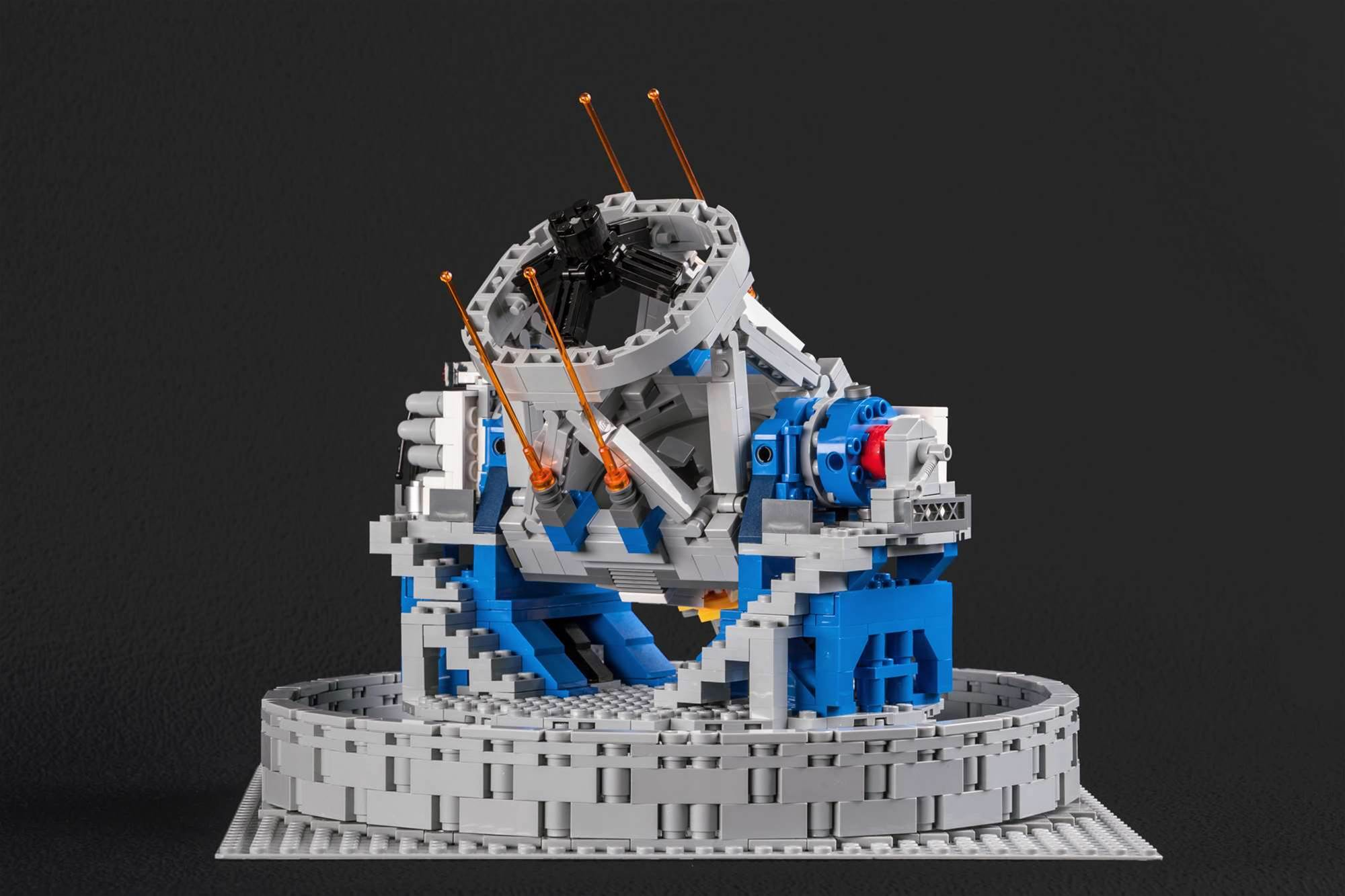 You Can Now Build Giant Space Telescopes Out of LEGO