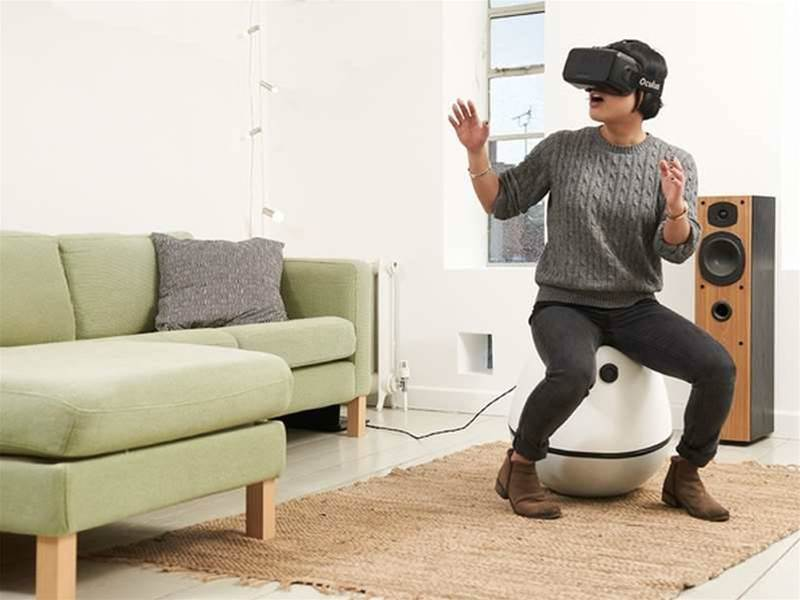 This Kickstarter chair is a body-motion VR controller