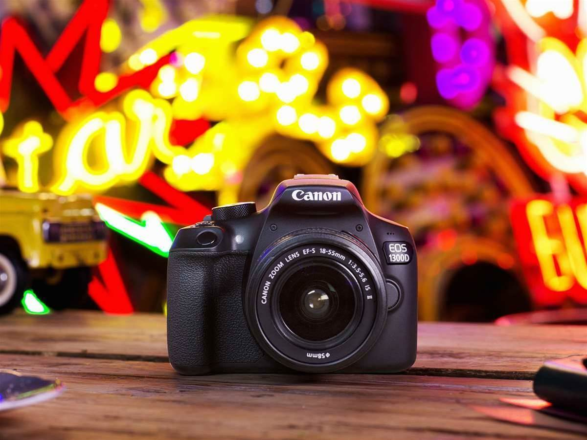 Canon's connected DSLR packs a punch