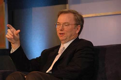 Schmidt to step aside as Google CEO