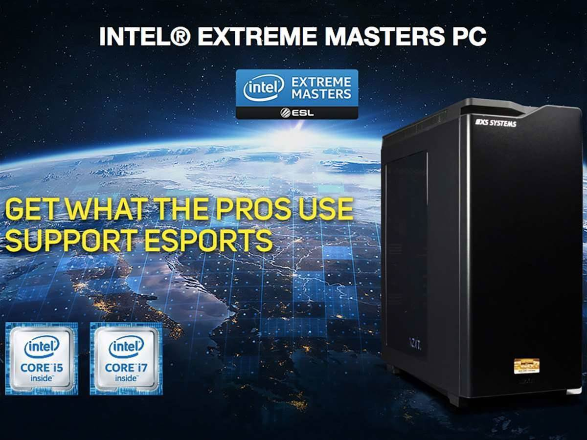 Intel wants you to play like the pros with its eSports-branded PCs