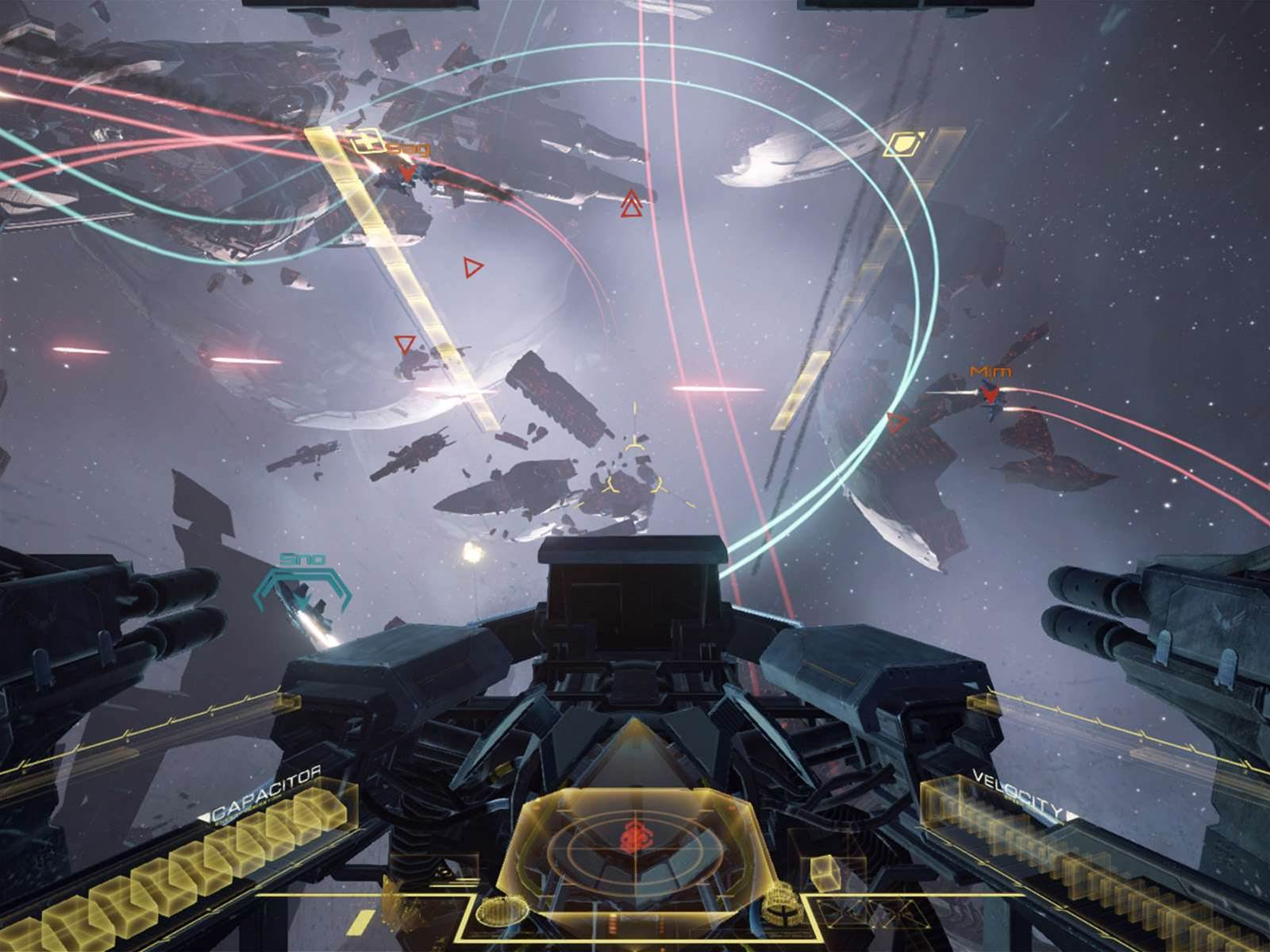 Eve: Valkyrie will come with every single Oculus Rift headset