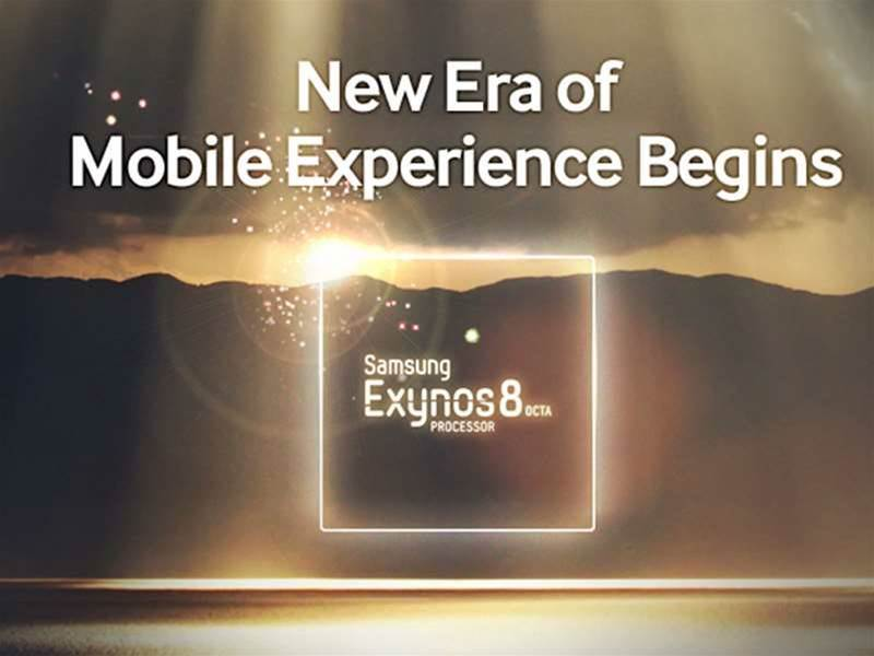 Samsung shows off new Exynos 8 Octa processor