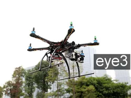 Send your DSLR into the skies with the eye3 hexacopter
