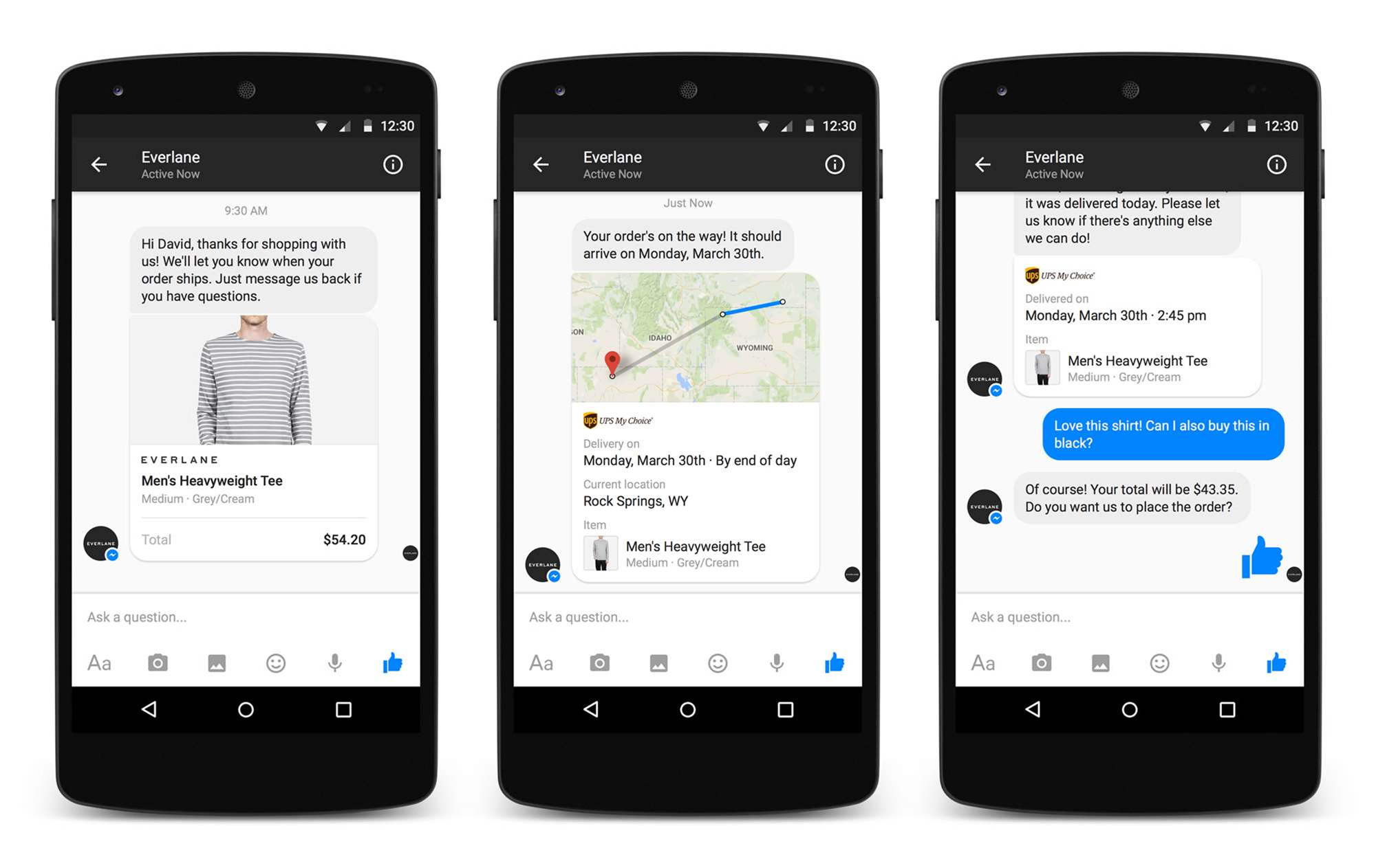 Facebook offers Messenger to businesses