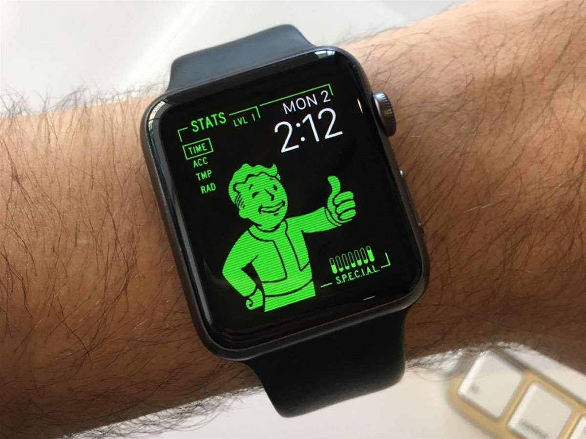 Transform your Apple Watch into Fallout's Pip-Boy 3000 in one easy step