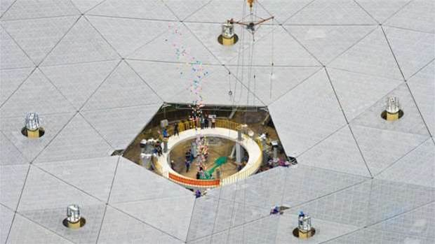 China hunts for aliens with the world's largest telescope