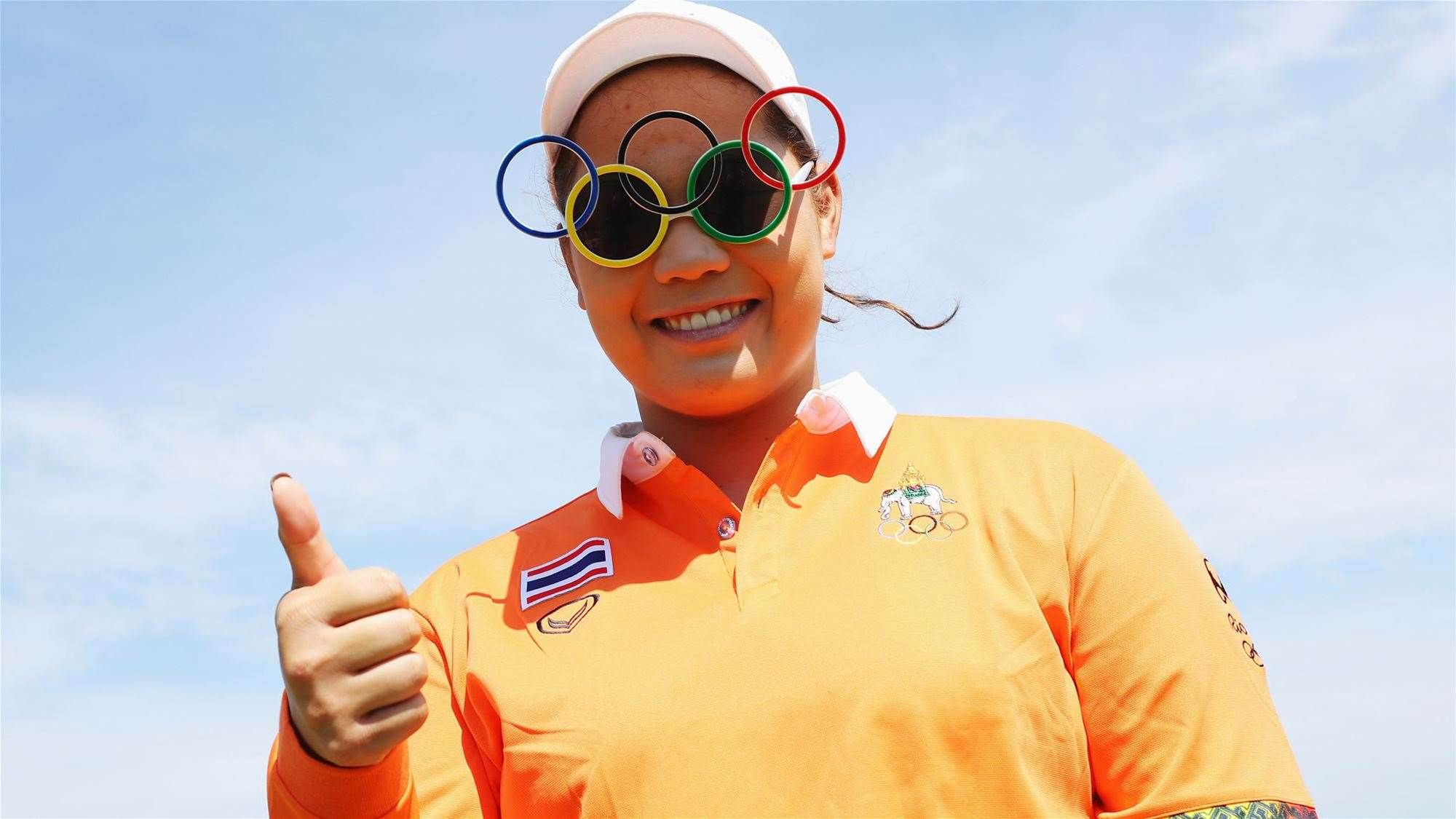 Jutanugarn puts on Olympic masterclass to lead