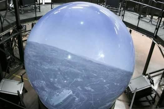 Video: Immersive Flight Simulation Dome Offers Seamless, Super-Real 360-Degree Views
