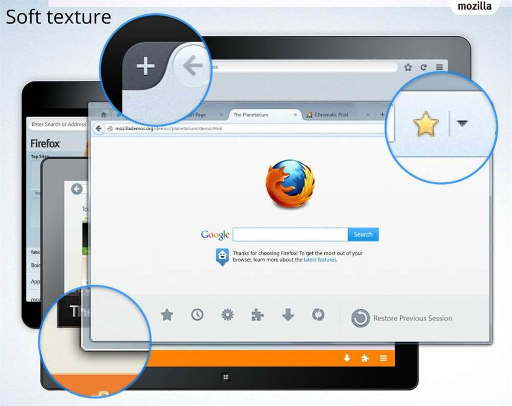 Get an early look at the new Firefox Australis interface