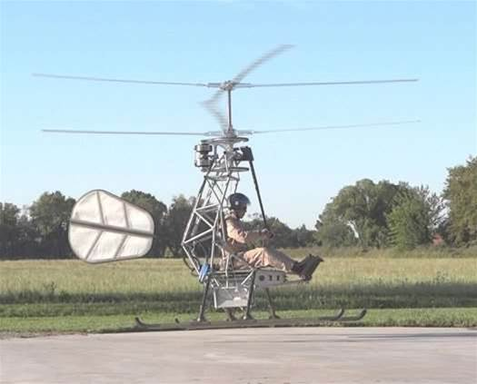 The First Manned, Untethered All-Electric Helicopter Flight Takes Off