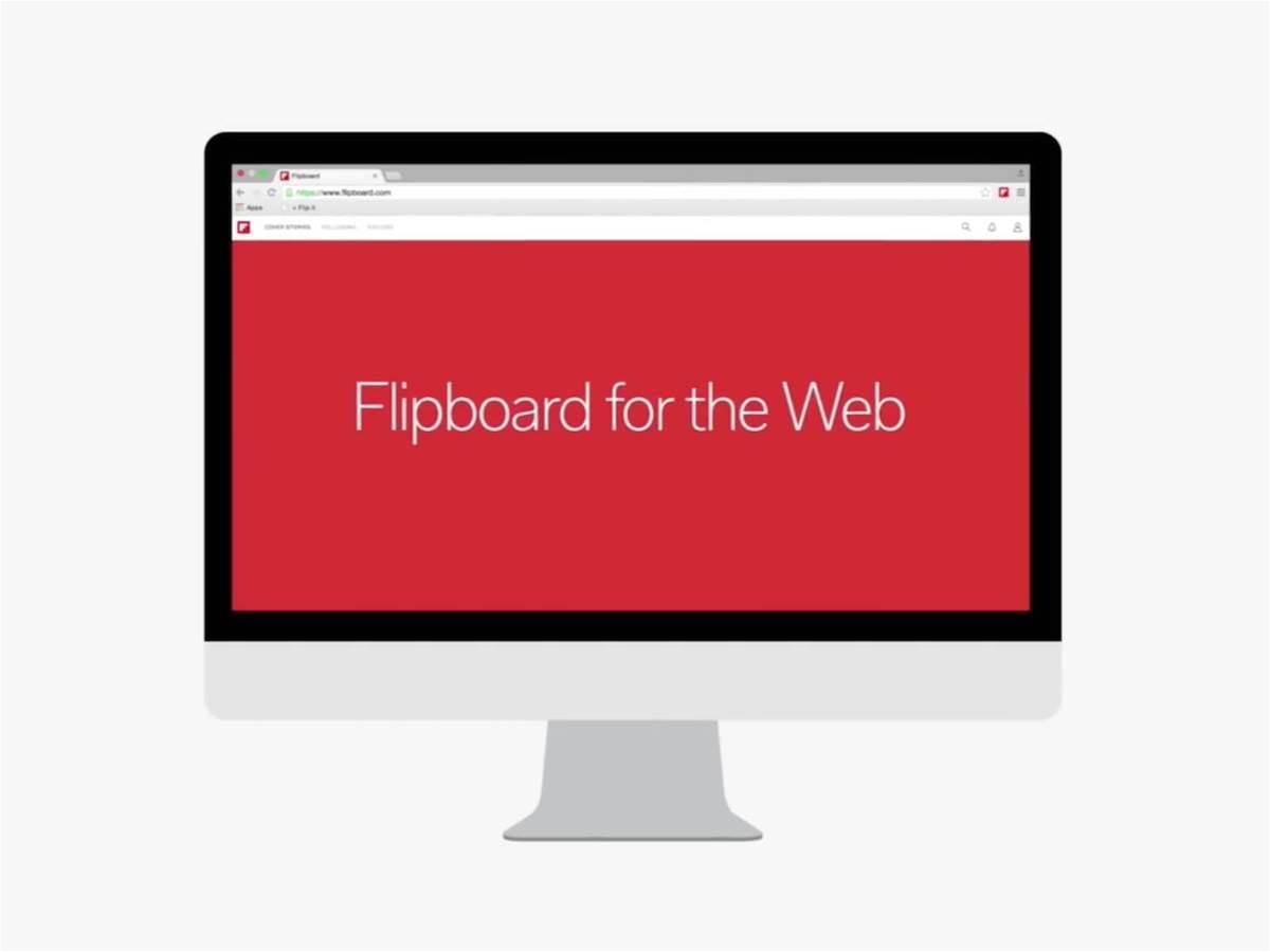 Flipboard flips over to web