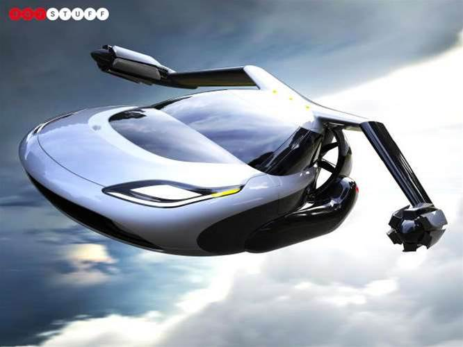 The autonomous flying car is set to become reality... in ten years