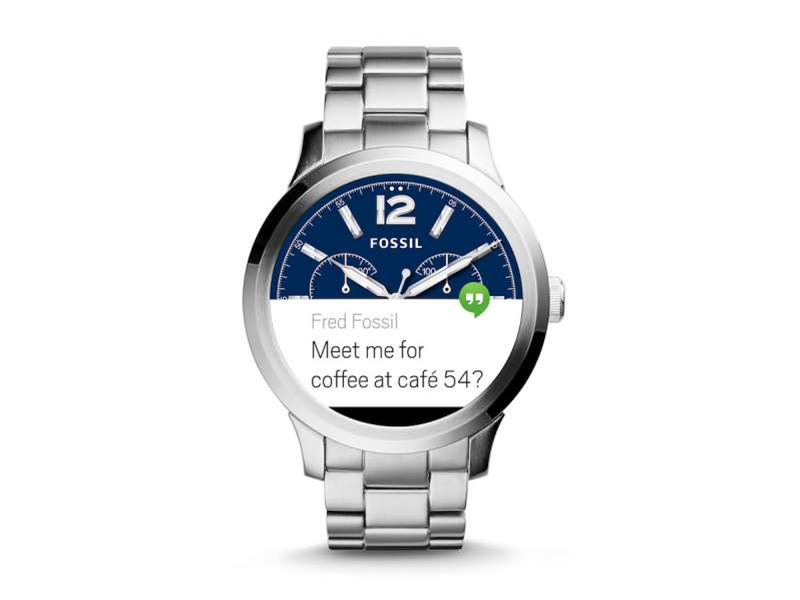 Fossil's Q Founder Android Wear watch is out now