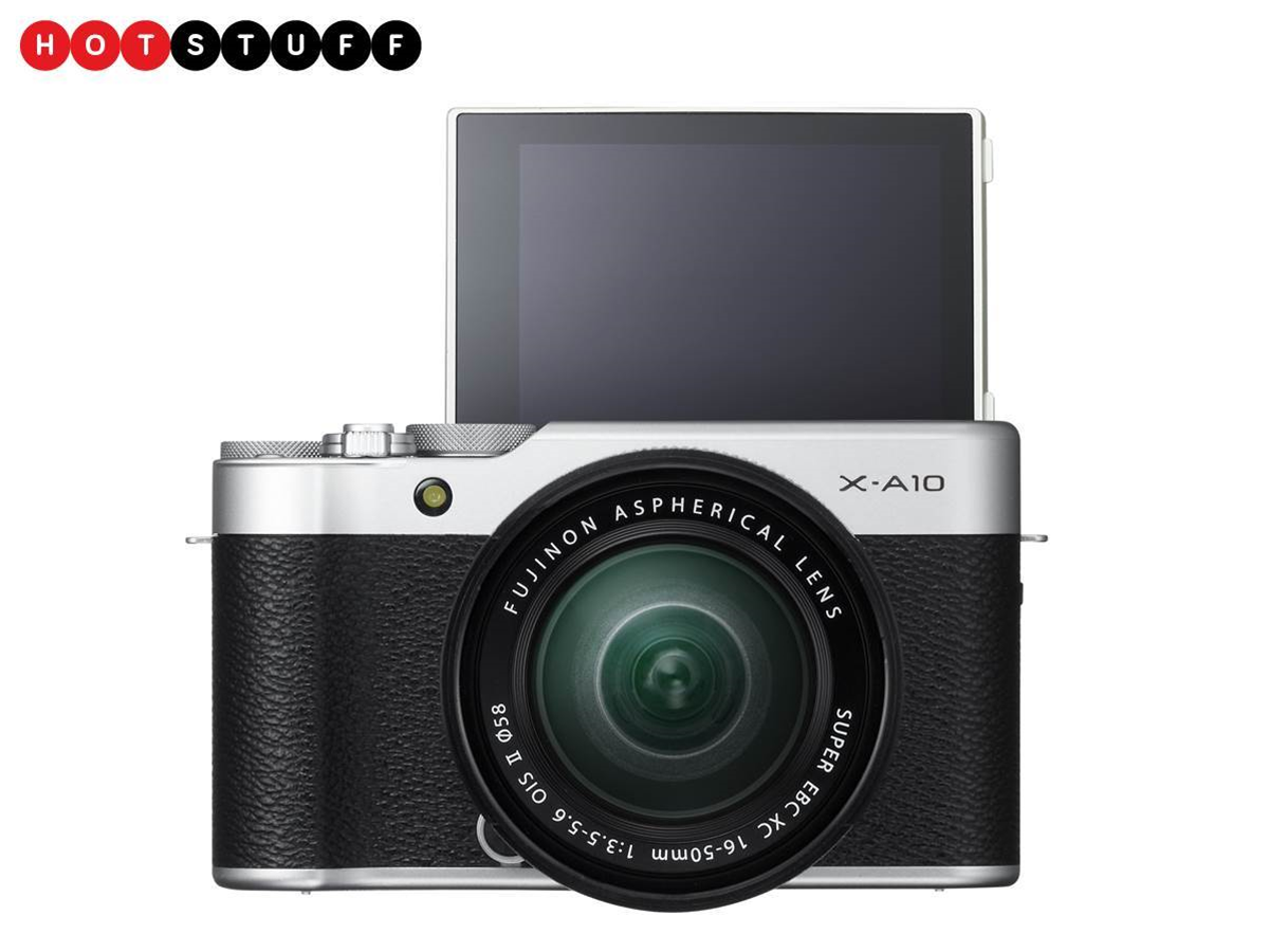 The Fujifilm X-A10 is the selfie cam of your dreams (or nightmares)