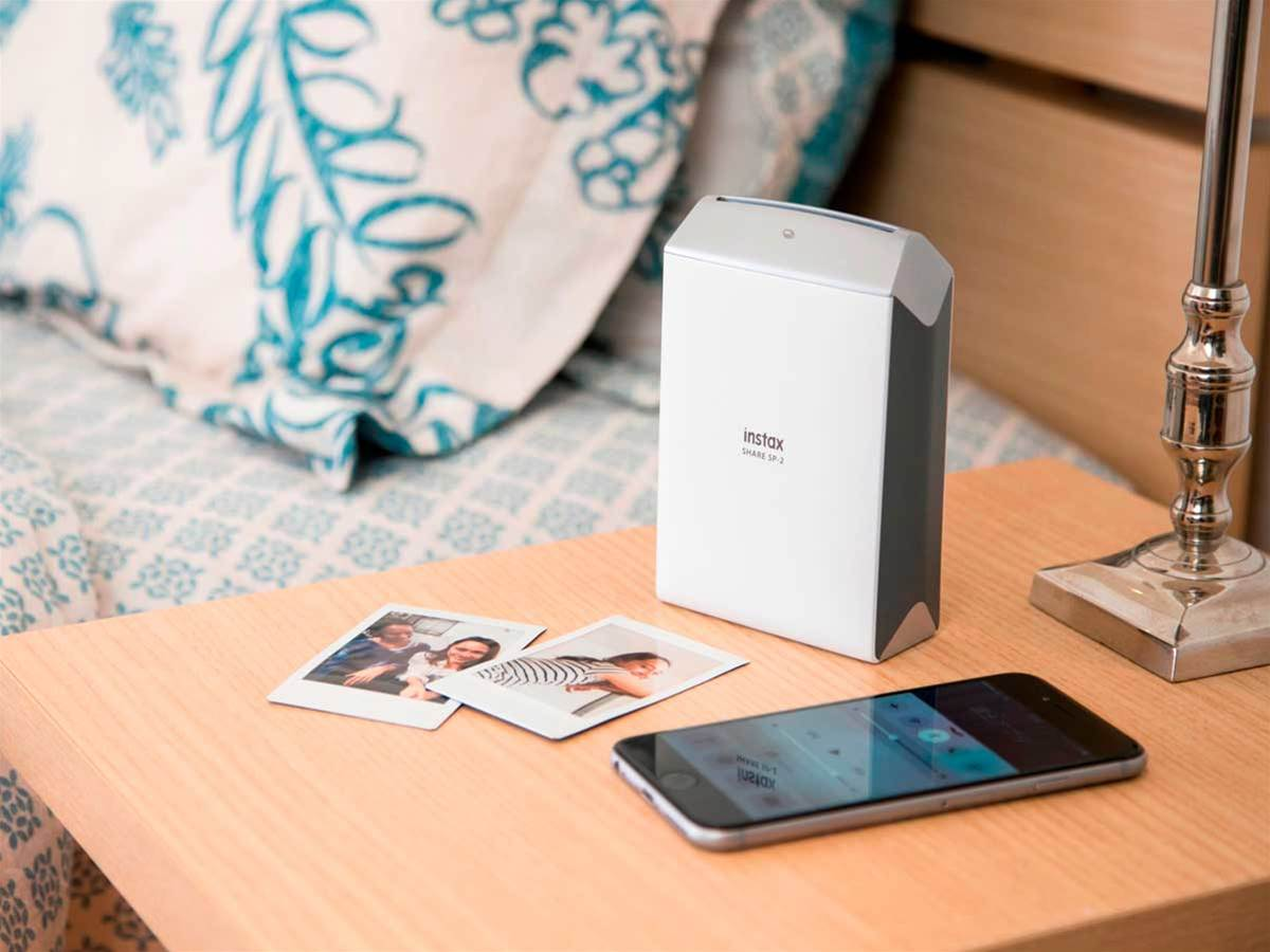 Fujifilm instax SHARE SP-2: photo prints from your phone in 10 seconds flat