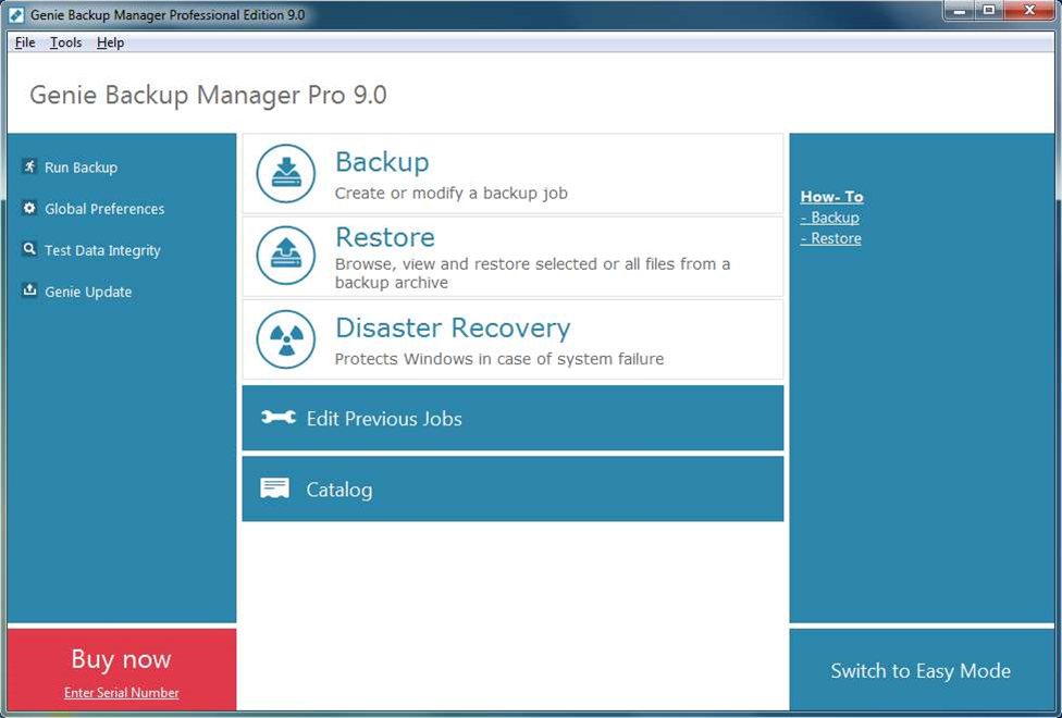 Paragon Drive Backup 11, Genie Backup Manager Pro 9.0 released