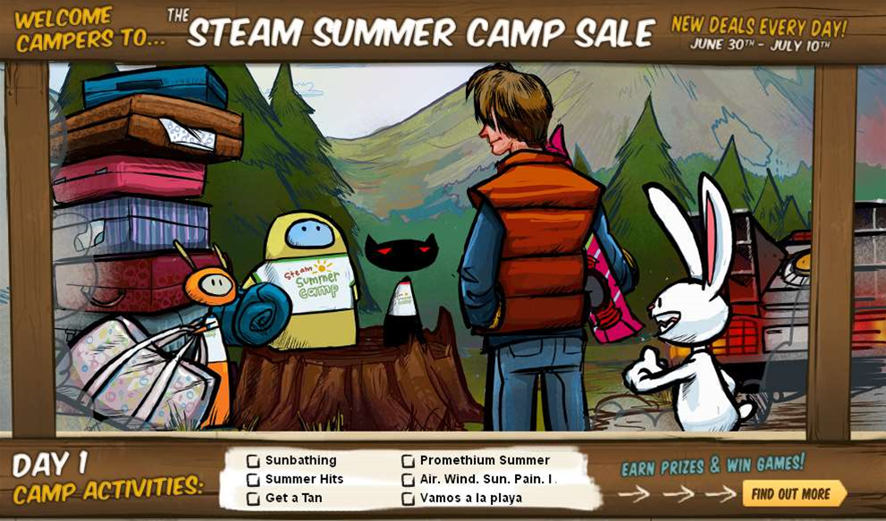 Tech Deals: Steam Summer Camp Sale is on now