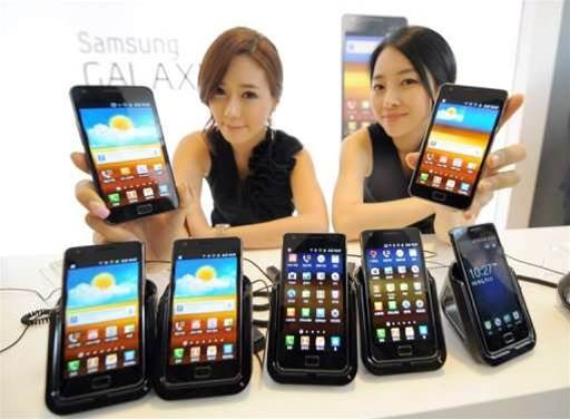 Samsung Galaxy S II sales out of this world