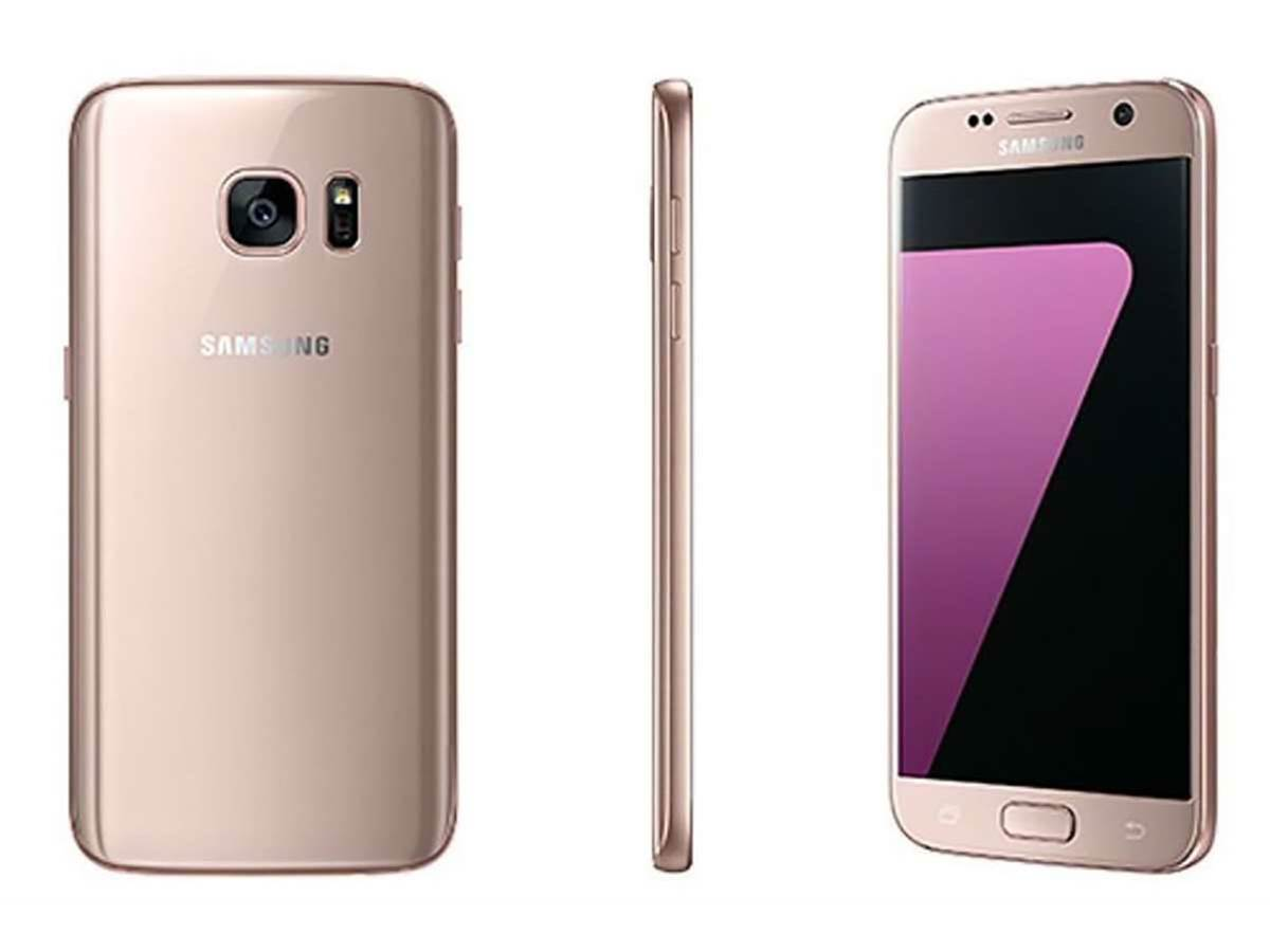 Samsung goes pink with a Galaxy S7 to rival Apple's Rose Gold iPhone