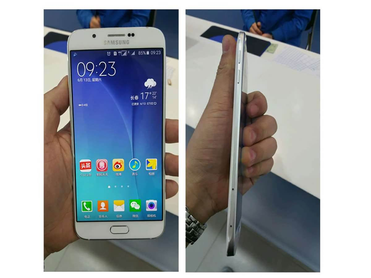 Ultra-thin Samsung Galaxy A8 leaks