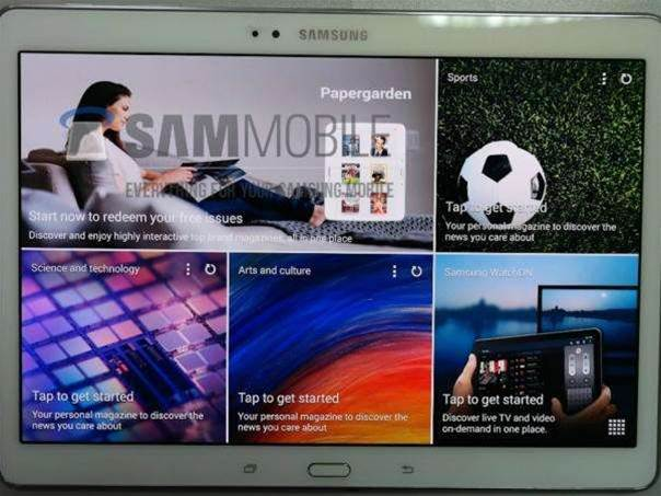 First photos of Samsung's upcoming Galaxy Tab S