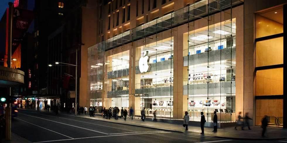 Apple on new store blitz