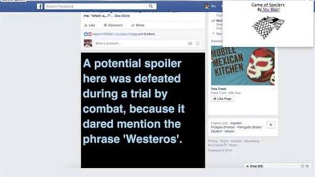 Avoid Game of Thrones season 6 spoilers with this Google Chrome extension