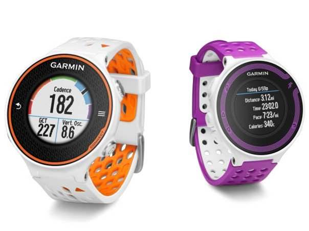 Garmin Forerunner 620 and 220 watches get colour display