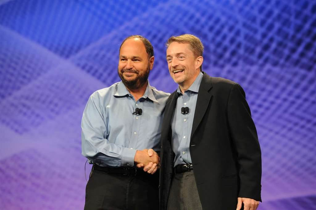 VMware names new CEO, gets rid of 'dirty word'