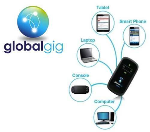Get cheaper data overseas with Globalgig