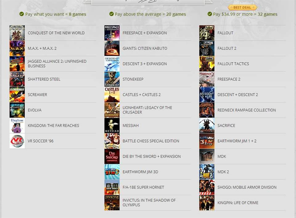 GOG puts its entire Interplay collection on sale