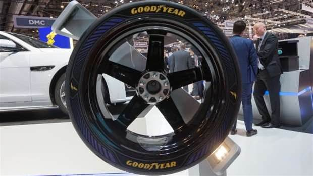 Goodyear's Intelligrip tyres will give driverless cars fingertip sensitivity