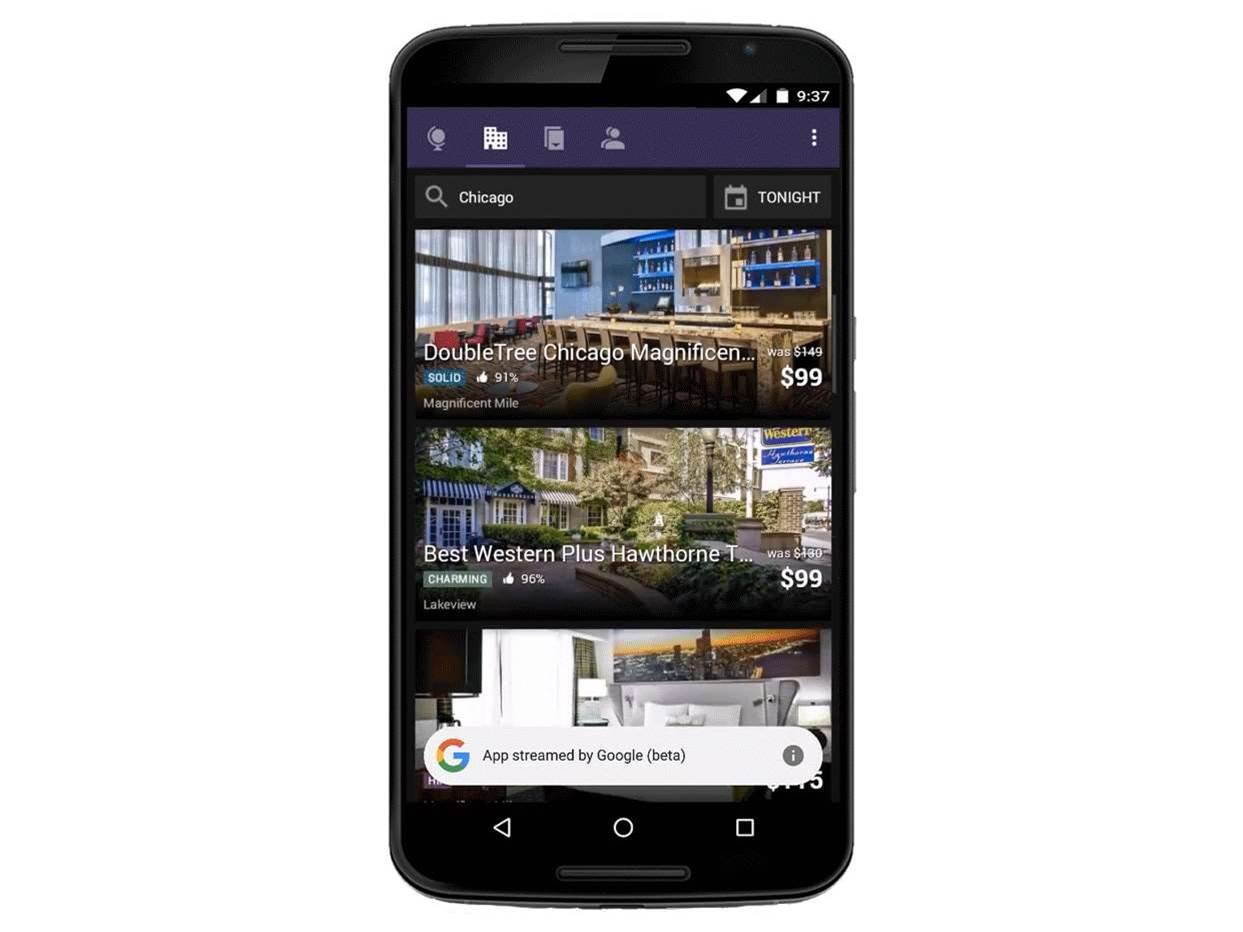 Google can now stream apps to your phone