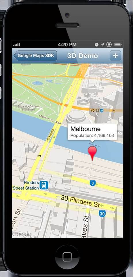 Google brings own Maps app to iOS