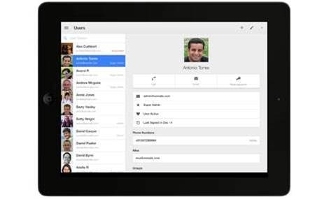 Google Admin app for iOS released