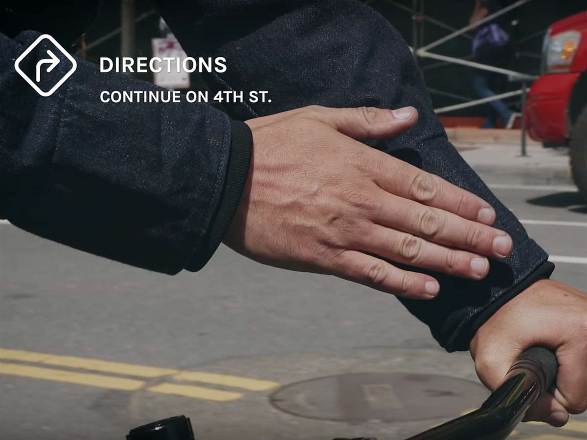 Google and Levi's unveil touch-sensitive jacket for controlling your phone